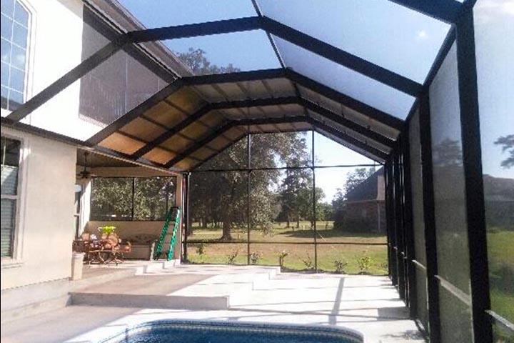 Lexan Pool Enclosures | Lexal Structures | Sun Rooms | Pool ...
