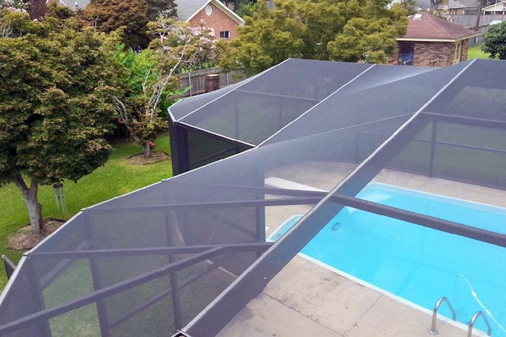 Swimming Pool Screening : Pool enclosures swimming screen