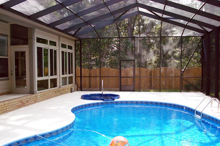 A Swimming Pool Enclosure Adds Functionality While Enhancing The Appearance  And Value Of Your Pool And Home.