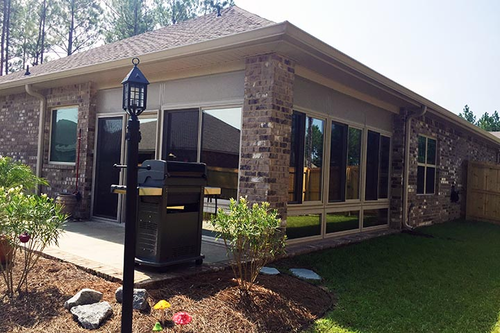 Our sunrooms also can be build around brick strutures usually designed for a patio, or any other house patio structure that can be turned into spave for family gathering and recreation.
