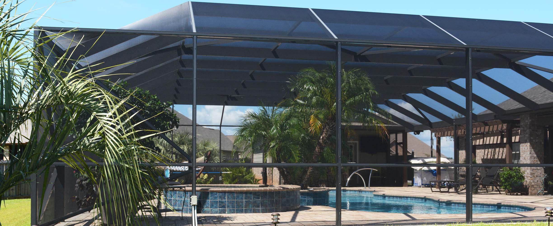 Aluminum Swimming Pool Enclosure In Foley, Alabama